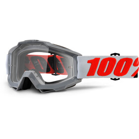 100% Accuri Anti Fog Clear goggles grijs
